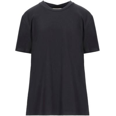 エリカ カヴァリーニ ERIKA CAVALLINI T シャツ ブラック M コットン 100% T シャツ