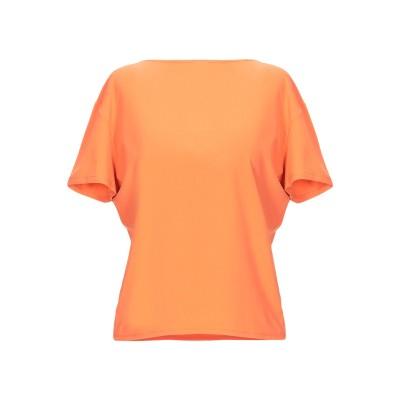 TESSA & FLO T シャツ オレンジ 46 ナイロン 90% / ポリウレタン 10% T シャツ
