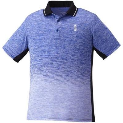 ゴーセン テニス ユニ ゲームシャツ 男女兼用 19 ロイヤルブルー ケームシャツ・パンツ(t1950-15)