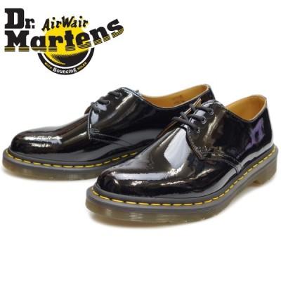 ドクターマーチン 3ホール 正規品 Dr.Martens 1461 PATENT 3EYE SHOE 10084001 スリーホールシューズ メンズ ブーツ レザー 本革 レースアップ ローカット