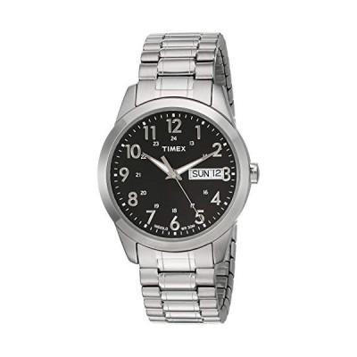 Timex Mens Silver-tone Classic Dress Watch並行輸入