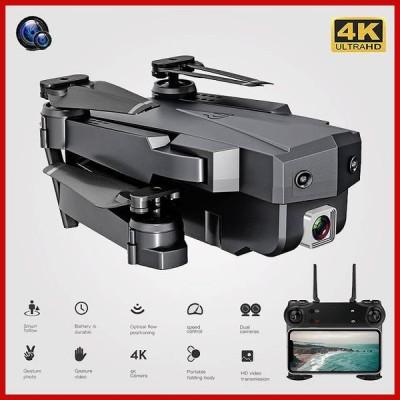 Wifi rc ドローン 4 18k 1080 720p の hd デュアル カメラ dron オプティカル フローセンサ 空中 折りたたみ
