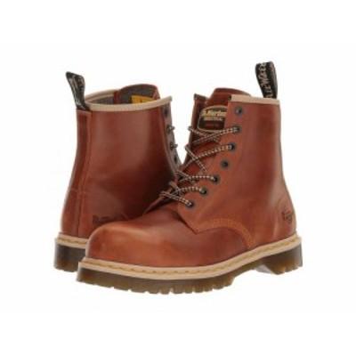 Dr. Martens Work ドクターマーチン メンズ 男性用 シューズ 靴 ブーツ ワークブーツ Icon 7B10 Tan Industrial Waxy【送料無料】