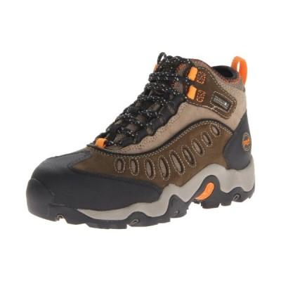Timberland PRO Men's Mudslinger Mid Waterproof Lace-Up Fashion Sneaker,Brown Nubuck,11.5 W US【並行輸入品】