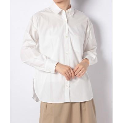 【アン レクレ】 コットンシャツブラウス レディース オフホワイト 2 en recre