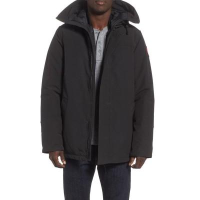 カナダグース CANADA GOOSE メンズ コート アウター Garibaldi Slim Fit 3-In-1 Parka Black