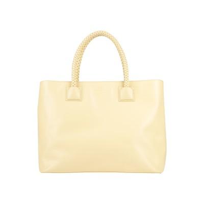 ELISABETTA FRANCHI ハンドバッグ イエロー 紡績繊維 ハンドバッグ