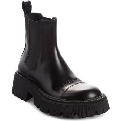 バレンシアガ BALENCIAGA レディース ブーツ チェルシーブーツ シューズ・靴 Tractor Chelsea Boot Black