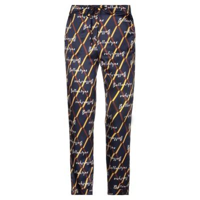 バランタイン BALLANTYNE パンツ ダークブルー 40 レーヨン 60% / シルク 29% / ポリウレタン 11% パンツ