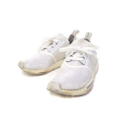 【中古】アディダス adidas スニーカー JP 24.5cm 白 ホワイト ミッドカット boost 117815053 レディース 【ベクトル 古着】