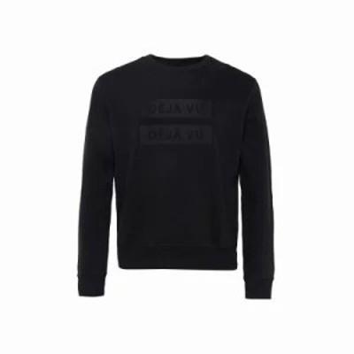 フレンチコネクション スウェット・トレーナー Deju Vu Sweatshirt black