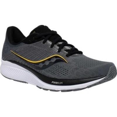 サッカニー メンズ スニーカー シューズ Guide 14 Running Sneaker (Men's) Medium Gray Nubuck
