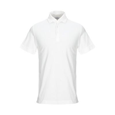 マーロ MALO ポロシャツ ホワイト 48 コットン 100% ポロシャツ