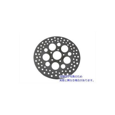 【取寄せ】11-1/2  Drilled Front Brake Disc Dura V-TWIN 品番 23-0356  (参考品番:44156-00 44136-00)  Vツイン アメリカ USA