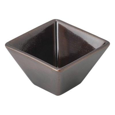 業務用食器 アメ7cmスクエアボール 7×7×4.5cm もだんコントラスト