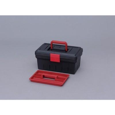 アイリスオーヤマ ツールケース ダークグレー/レッド 600