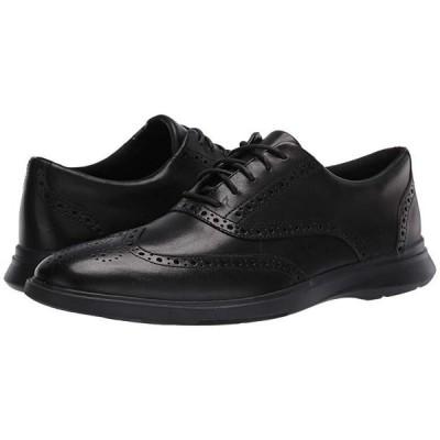クラークス Un Lipari Ave メンズ オックスフォード Black Leather