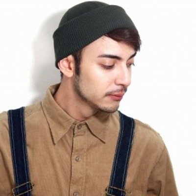 日本製 racal ニットワッチ リブ ショートワッチ ニット 帽子 レディース ニットキャップ 帽子 秋 冬 ニット帽 メンズ ラカル オリーブ