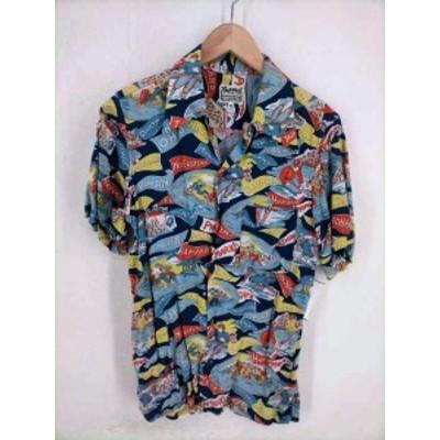 フェローズ PHERROWS アロハシャツ サイズJPN:XS メンズ 【中古】【ブランド古着バズストア】