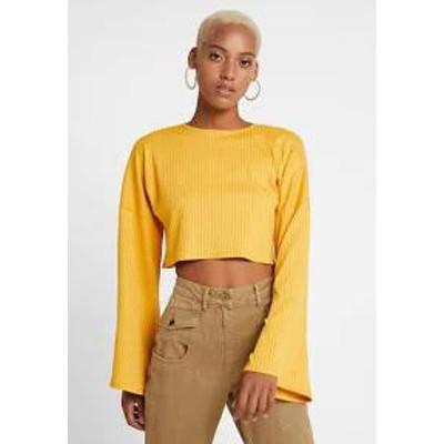 Gina Tricot レディースその他 Gina Tricot ARIA - Long sleeved top - yellow yellow