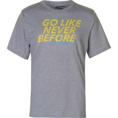 スケッチャーズ Skechers メンズ Tシャツ トップス Slogan T Shirt Charcoal