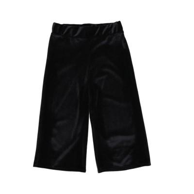 VICOLO パンツ ブラック 10 ポリエステル 93% / ポリウレタン 7% パンツ