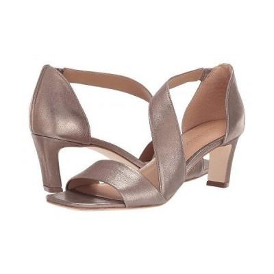 Bernardo バーナード レディース 女性用 シューズ 靴 ヒール Camille - Platinum Distressed Metallic