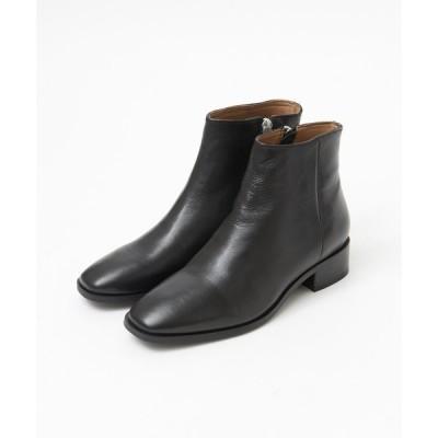 ブーツ 【販売店舗限定】スクエアトゥショートブーツ
