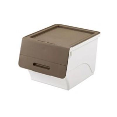 サンカ SANKA 収納ボックス フロック30 深型 ブラウン インテリア・寝具・収納