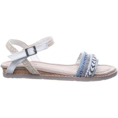 ベアパウ サンダル シューズ レディース BEARPAW Women's Bali Sandals Blue