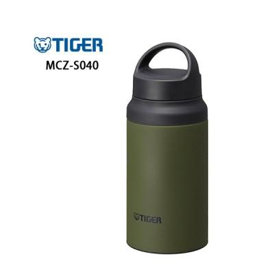 【送料無料】MCZ-S040 GZ タイガーステンレスボトル サステナブルなマグボトル 400ml モスフォレスト