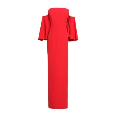 ミリー MILLY ロングワンピース&ドレス レッド 14 ポリエステル 91% / ポリウレタン 9% ロングワンピース&ドレス