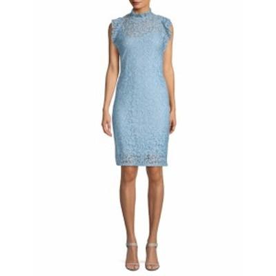 アレクシアアドモール レディース ワンピース Ruffled Lace Sheath Dress