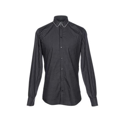 ドルチェ & ガッバーナ DOLCE & GABBANA シャツ ブラック 38 コットン 92% / シルク 8% シャツ
