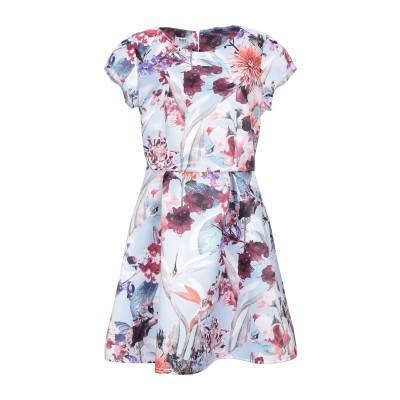 KATE BY LALTRAMODA ミニワンピース&ドレス スカイブルー XL ポリエステル 100% ミニワンピース&ドレス