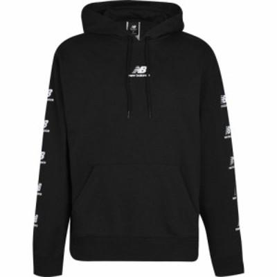 ニューバランス New Balance メンズ パーカー トップス Essential Logo Hoodie Black