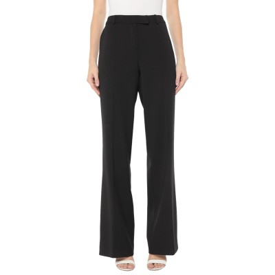 CLIPS MORE パンツ ブラック 44 ポリエステル 52% / バージンウール 43% / ポリウレタン 5% パンツ