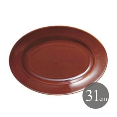 プラター 31cm アメ 6個 カネスズ エクシブ(00522440-6P)キッチン、台所用品