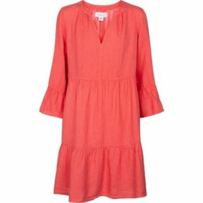ベルベット グラハムandスペンサー Velvet レディース ワンピース ワンピース・ドレス Aurora linen minidress Coral Pink