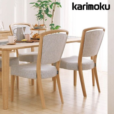 カリモク ダイニングチェア 肘なし 肘付 食堂椅子 合成皮革 CT83モデル CT8305 CT8300 karimoku