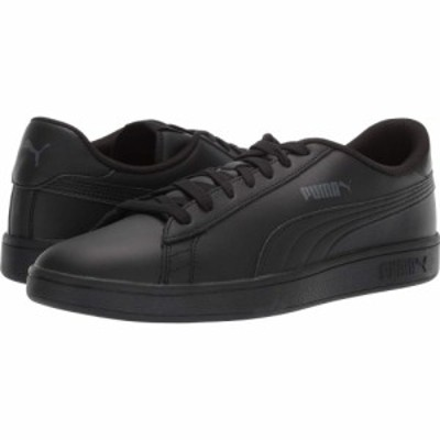 プーマ PUMA メンズ スニーカー シューズ・靴 Smash V2 L Puma Black/Puma Black