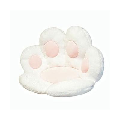 猫の肉球クッション かわいいクッション 猫の肉球の形 レイジースーザン クマの肉球 チェアクッション 暖か