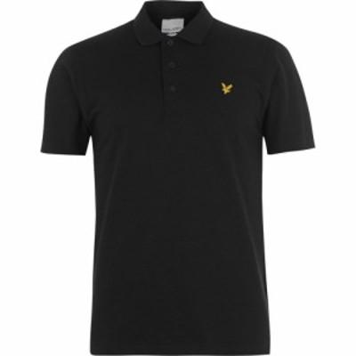 ライル アンド スコット Lyle and Scott メンズ ポロシャツ トップス Lyle Golf Polo Shirt True Black