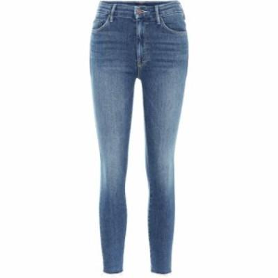 マザー Mother レディース ジーンズ・デニム ボトムス・パンツ The Looker Ankle Fray skinny jeans Big Sky