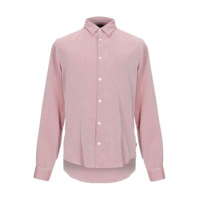 アルマーニ ジーンズ ARMANI JEANS シャツ レッド XS コットン 100% シャツ