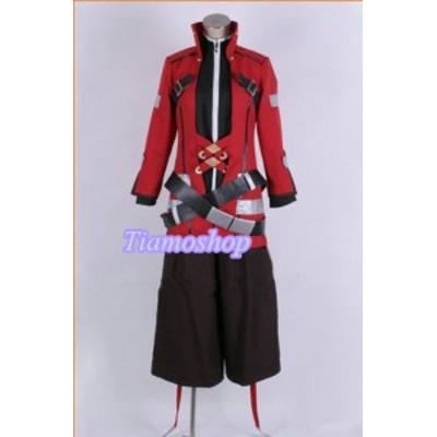 BLAZBLUE(ブレイブルー )      ラグナ 風   靴カバー付き★コスプレ衣装 完全オーダメイドも対応可能 * K3672