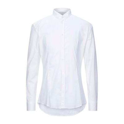 グレイ ダニエレ アレッサンドリーニ GREY DANIELE ALESSANDRINI シャツ ホワイト 44 コットン 97% / ポリウレタン