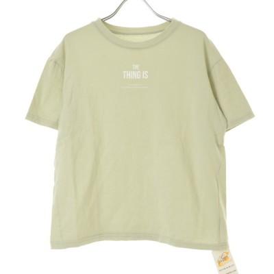 RE:EDIT / リエディ THE THING IS 半袖Tシャツ
