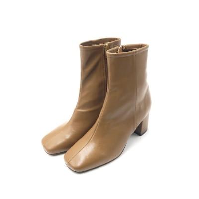 Esmeralda / スクエアトゥストレッチミドルブーツ WOMEN シューズ > ブーツ
