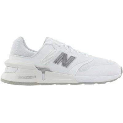 ニューバランス メンズ スニーカー シューズ 997 Sport Lace Up Sneakers White / Aluminum